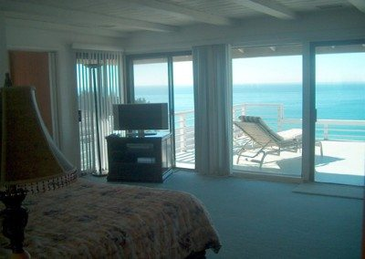 king view of ocean and tv